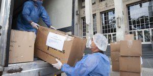 Josefina Mendoza exige insumos médicos para personal de salud