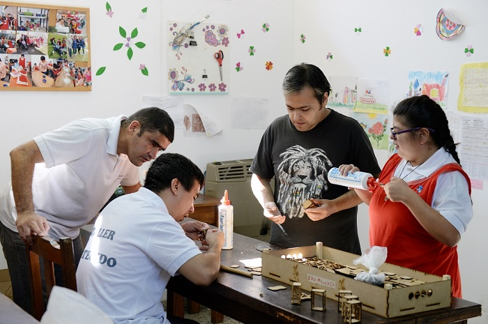 Medidas de ayuda para talleres protegidos