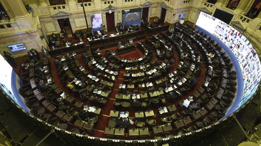 Cámara de Diputados en Sesión Virtual